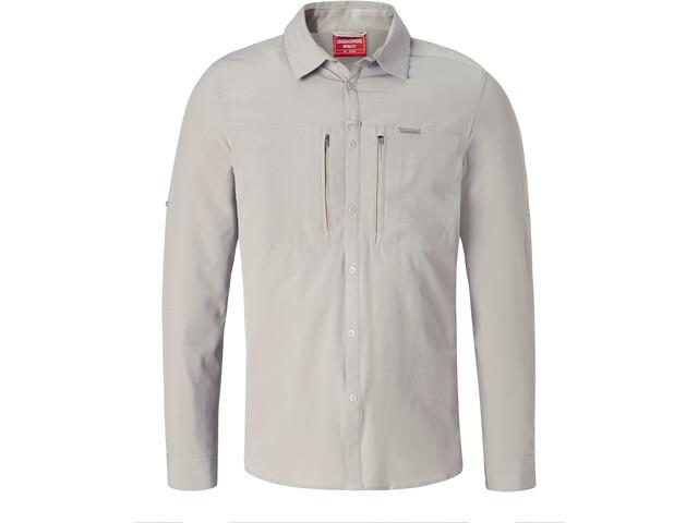 Craghoppers NosiLife Pro II Longsleeve Shirt Men Parchment
